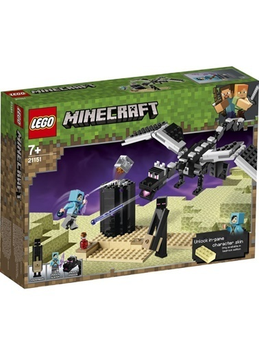 Lego Lego Minecraft End Savaşı 21151 Renkli